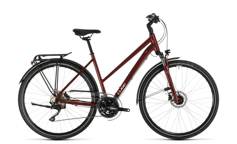 Cube Touring EXC ´n´ - Trapeze -  red´n´grey 2020