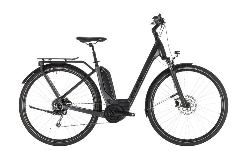 Cube Touring Hybrid 400 iridium´n´black 2019 - Easy Entry 28 -