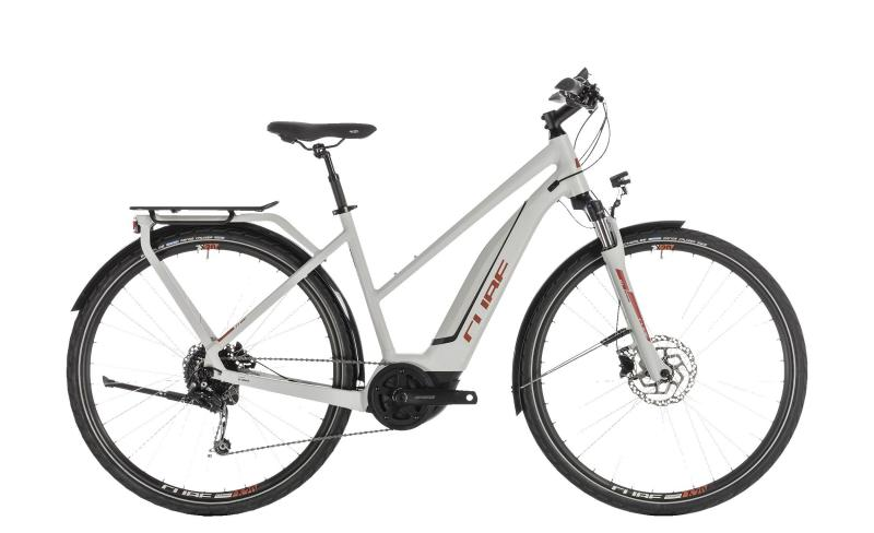 Cube Touring Hybrid 500 grey´n´orange 2019 - Trapeze Lady 28 -