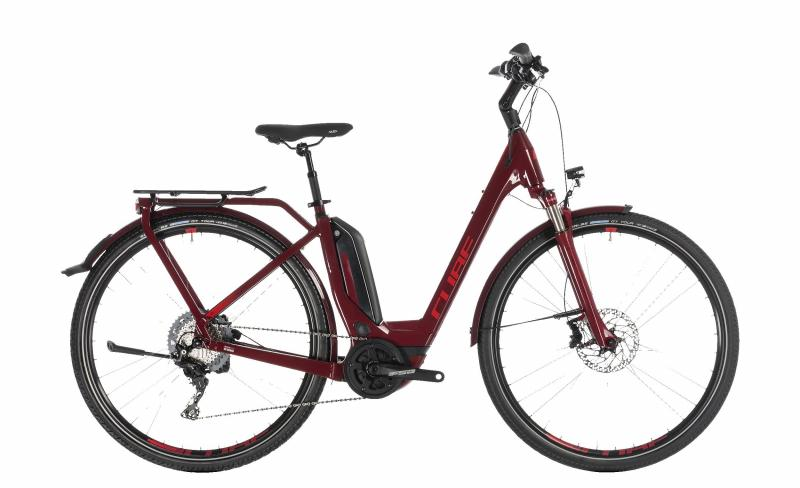 Cube Touring Hybrid EXC 500 darkred´n´red 2019 - Easy Entry 28 -