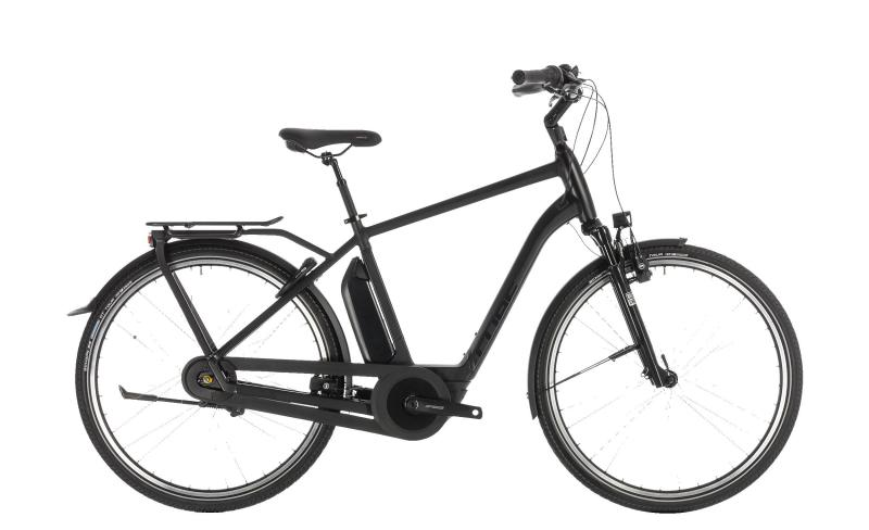 Cube Town Hybrid EXC 400 black edition 2019 - Men 28 -