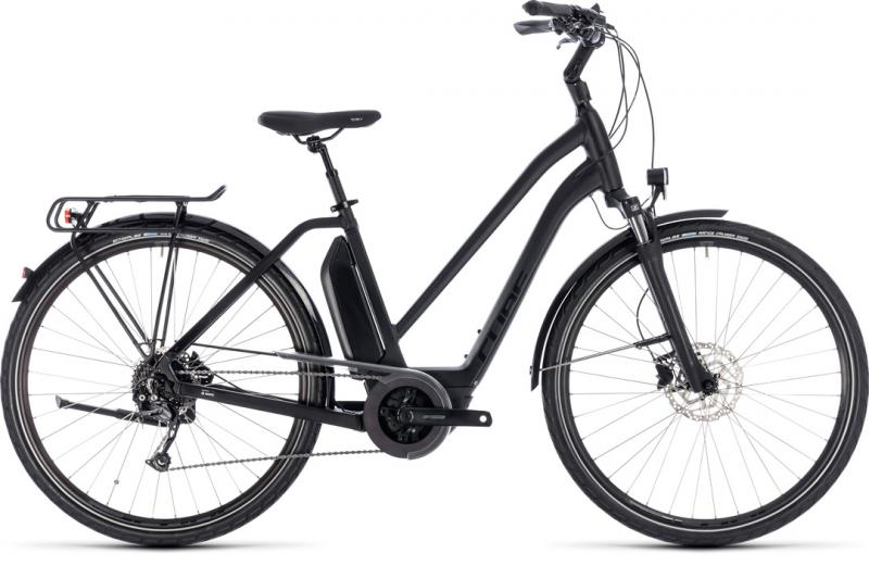 Cube Town Hybrid Sport 500 black´n´glossy 2018 - Trapeze 28 -