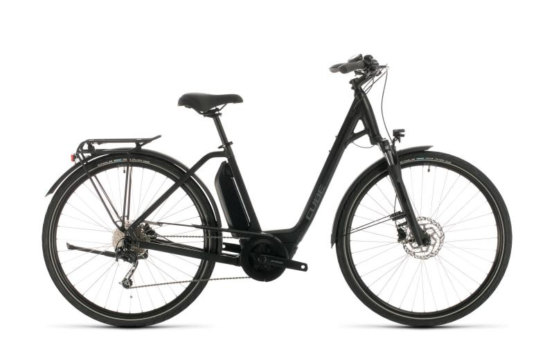 Cube Town Sport Hybrid ONE 400 - Easy Entry -  black´n´grey 2020