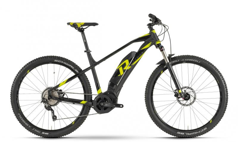 Raymon E-Nineray 6.0 - MTB Hardtail 29 -  black/yellow/black 2019