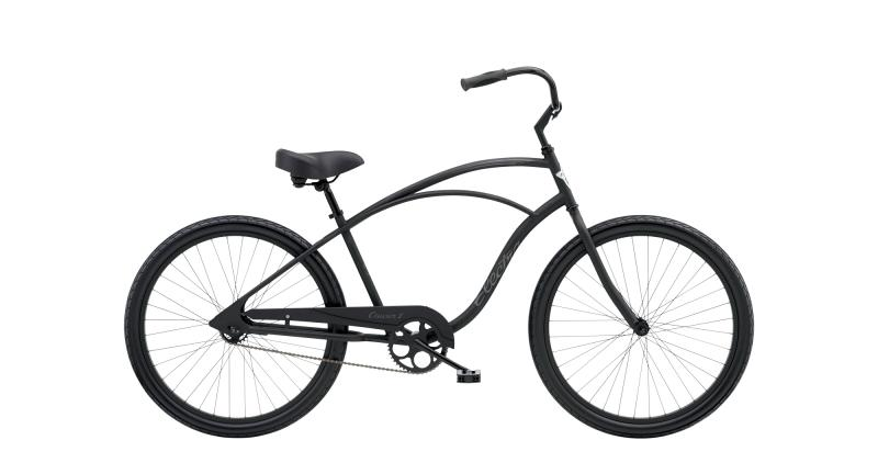 Electra Cruiser 1 Step-Over Matte Black 2020 - 26 TALL -