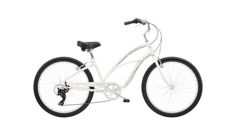 Electra Cruiser 7D - 26 LADIES' -  Pearl White 2019