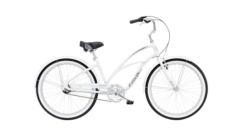 Electra Cruiser Lux 3i - 26 LADIES' -  White 2019