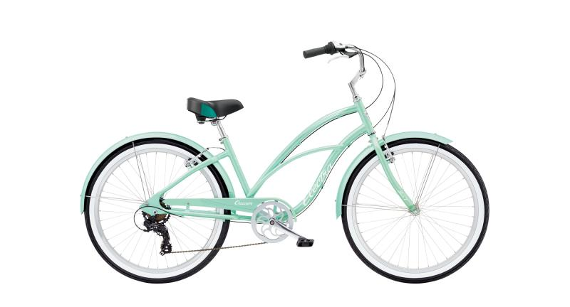 Electra Cruiser Lux 7D - 26 LADIES' -  Sea Green Metallic 2019