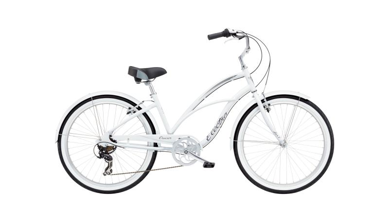 Electra Cruiser Lux 7D - 26 LADIES' -  White 2019