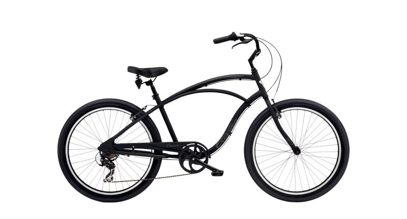 Electra Cruiser Lux 7D - 26 MEN'S -  Matte Black 2019