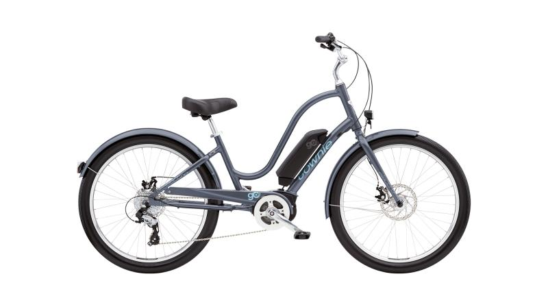 Electra Townie Go! 8D Step-Thru - 26 LADIES' -  COSMIC GREY 2019