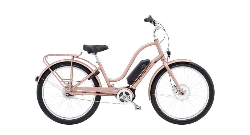 Electra Townie Go! 8i Step-Thru - 26 LADIES' - Rose Gold U