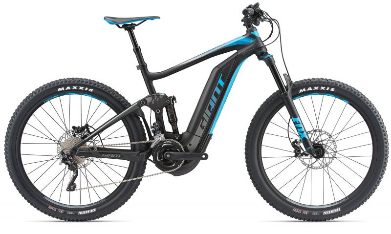 Giant Full-E+ 1.5 Pro LTD Black/Blue 2018 - 27.5 -