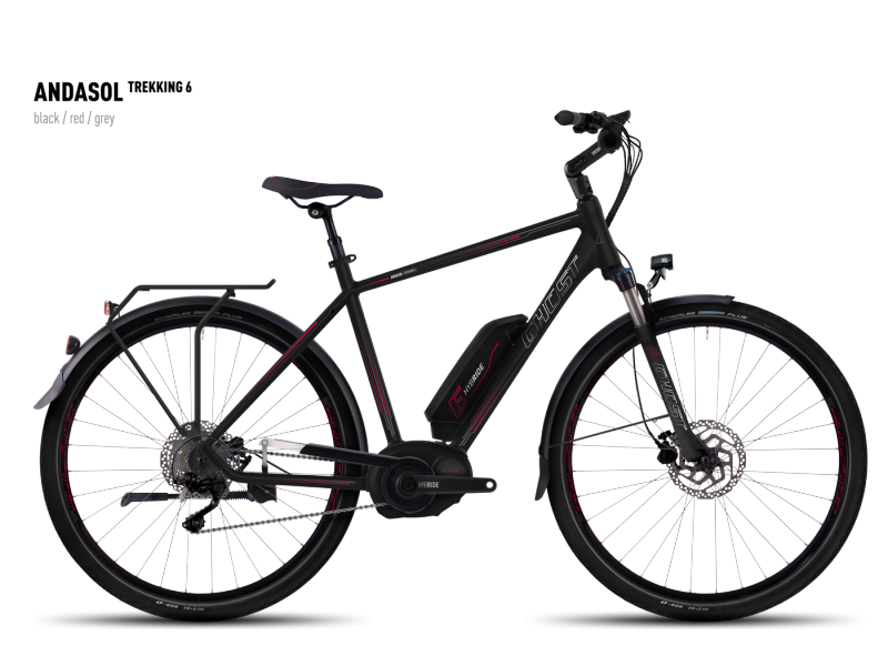 GHOST Andasol Trekking 6 black/red/gray 2016 L