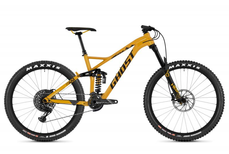GHOST Framr 8.7 AL U - 27.5 -  spectra yellow / night black 2019