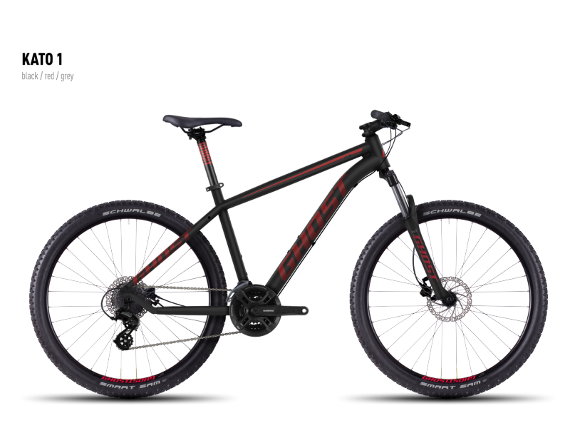 GHOST Kato 1 black/red/gray 2016