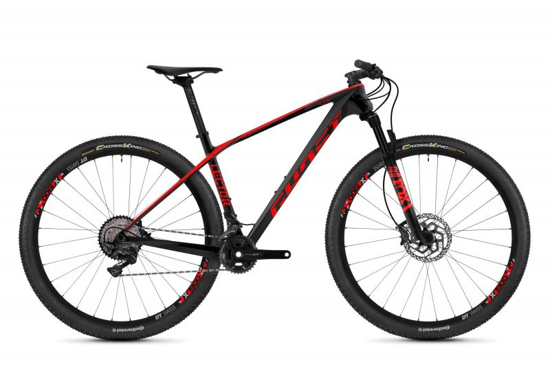 GHOST Lector 4.9 LC U - 29 -  night black / fiery red 2019