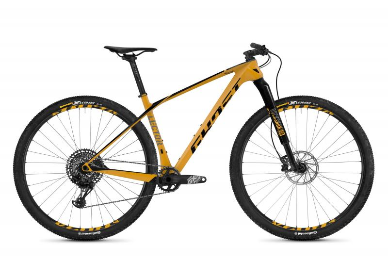 GHOST Lector 7.9 LC U - 29 -  spectra yellow / night black / titanium gray 2019