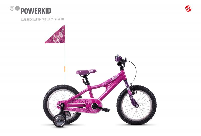 GHOST POWERKID AL 16 K - 16 -  dark fuchsia pink / violet / star white 2019