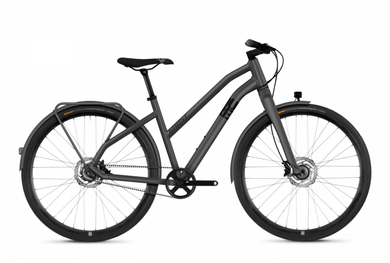 GHOST SQUARE Urban X7.8 AL W Urban grey NIGHTBLACK - 2018 - Damen 28 -