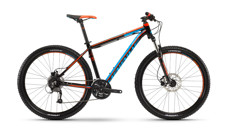 Haibike Edition 7.30 schwarz/cyan/orange 2016