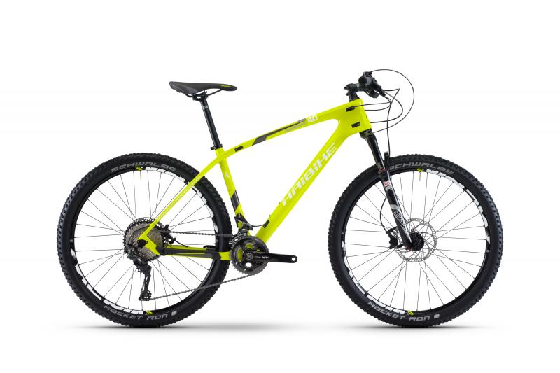 Haibike Greed HardSeven 4.0 Lime/Anthrazit/Weiß 2017 - MTB Hardtail -