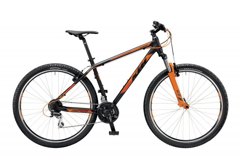 KTM CHICAGO 29.24 CLASSIC black matt (orange) 2019