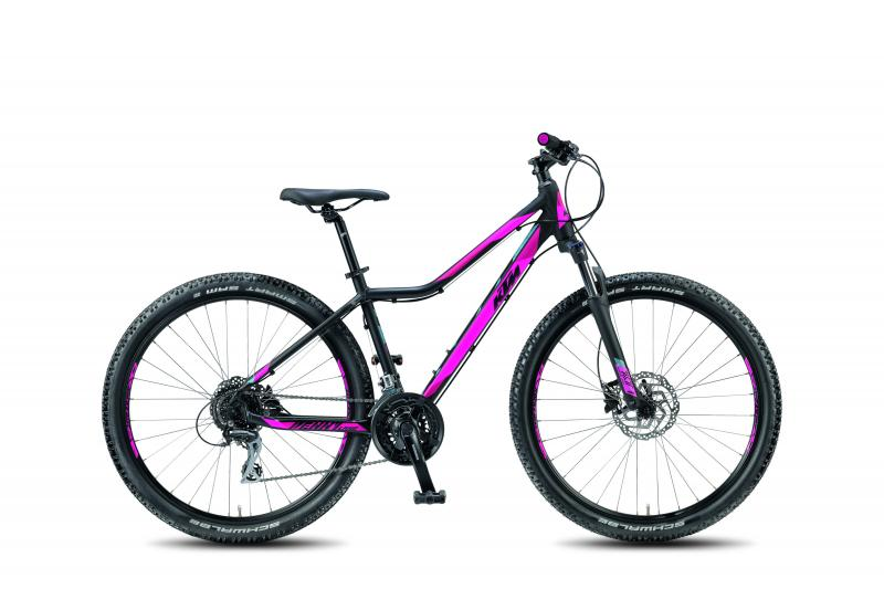 KTM PENNY LANE 27.24 DISC -  - black matt (magenta dove) 42