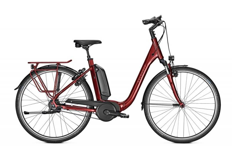 Kalkhoff AGATTU 3.B EXCITE - 26 Comfort 482 Wh -  winered glossy 2019