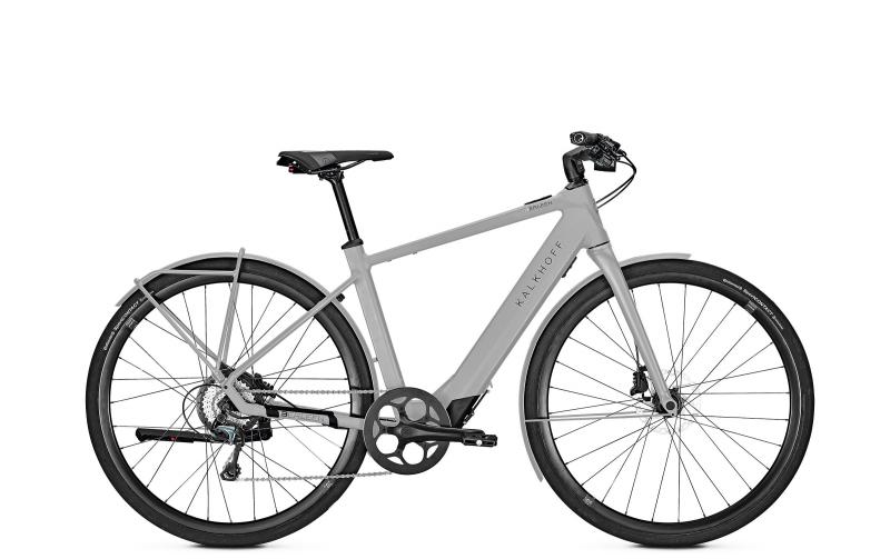 Kalkhoff BERLEEN 5.G ADVANCE - 28 Diamant 252 Wh -  coolgrey matt 2019