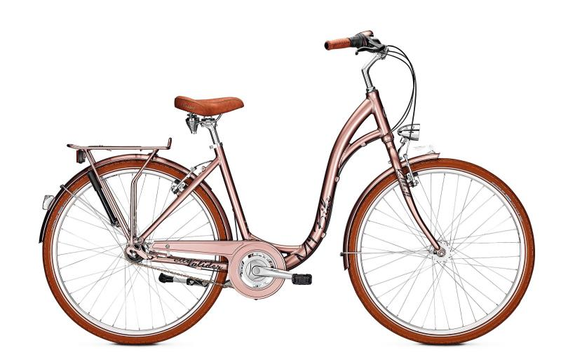 Kalkhoff CITY GLIDER 7 - 26 Comfort  Wh -  pecanbrown glossy 2019