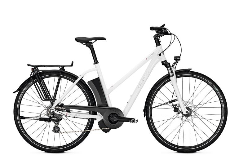 Kalkhoff ENDEAVOUR 1.I MOVE - 28 Trapez 400 Wh -  white glossy 2019