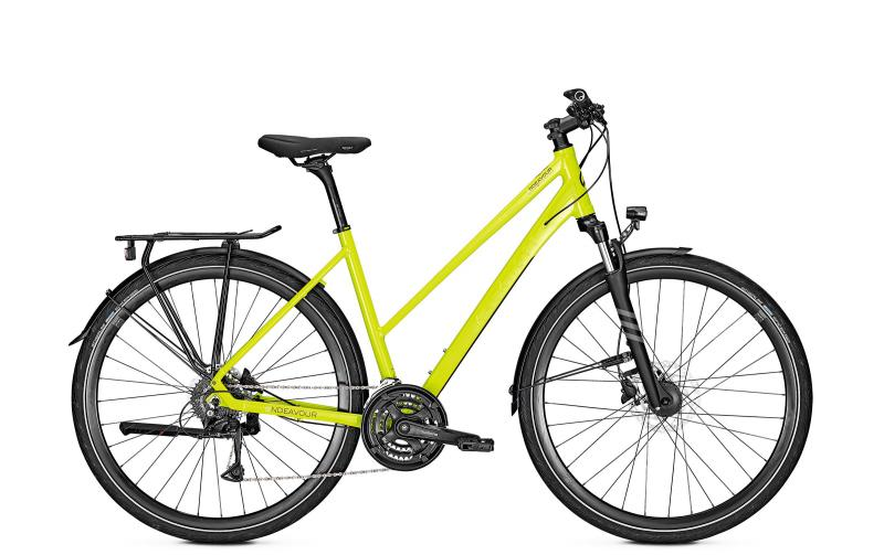 Kalkhoff ENDEAVOUR 24 - 28 Trapez  Wh -  limegreen glossy 2019
