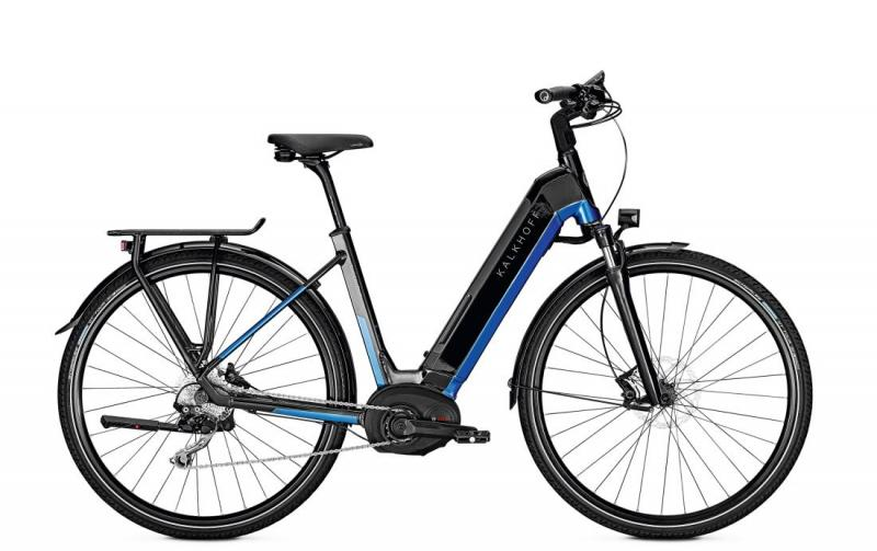 Kalkhoff ENDEAVOUR 5.B ADVANCE - 28 Wave 482 Wh -  magicblack/pacificblue glossy 2019