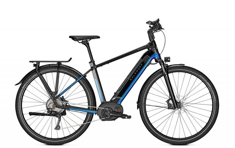 Kalkhoff ENDEAVOUR 5.B EXCITE - 28 Diamant 482 Wh - magicblack/pacificblue glossy 53