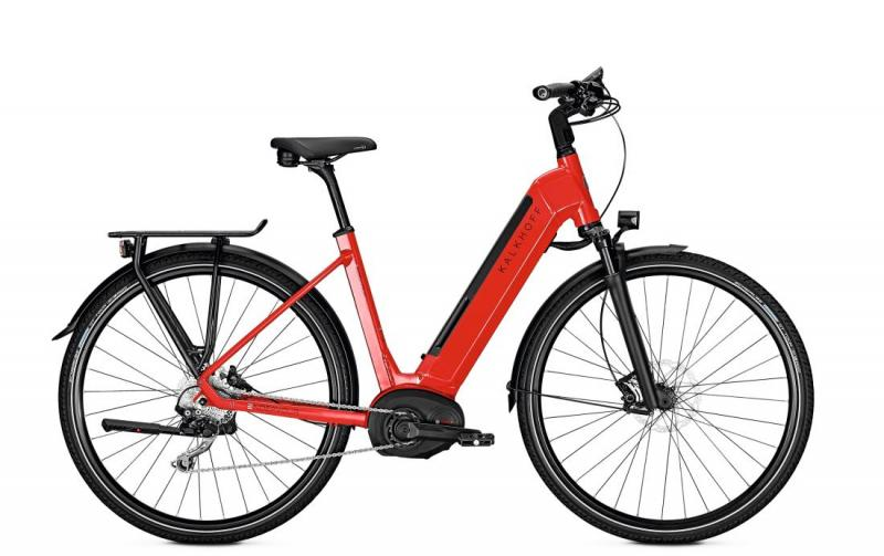 Kalkhoff ENDEAVOUR 5.B EXCITE - 28 Wave 482 Wh -  firered glossy 2019
