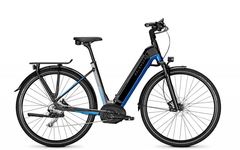 Kalkhoff ENDEAVOUR 5.B EXCITE - 28 Wave 482 Wh -  magicblack/pacificblue glossy 2019