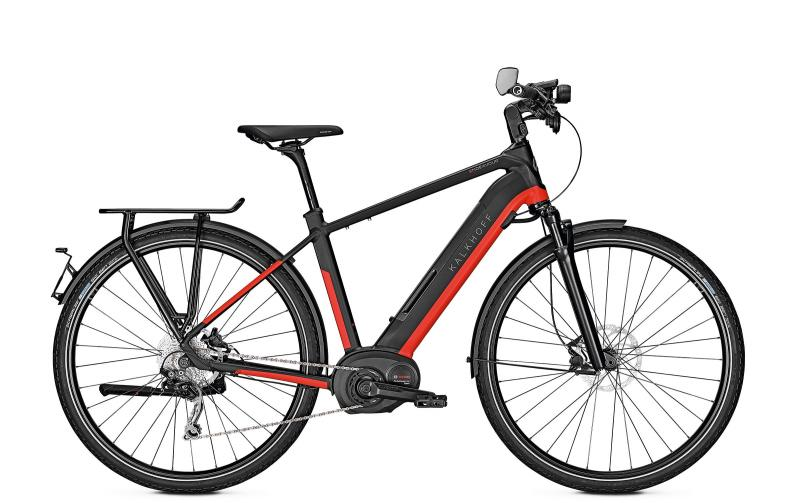 Kalkhoff ENDEAVOUR 5.B MOVE 45 - 28 Diamant 482 Wh -  magicblack/firered glossy 2019