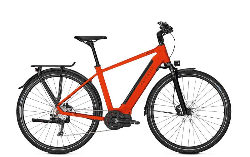 Kalkhoff ENDEAVOUR 5.I EXCITE - 28 Diamant 497 Wh -  firered glossy 2019