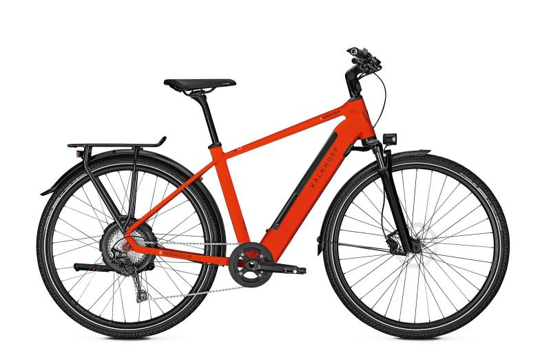 Kalkhoff ENDEAVOUR 5.N EXCITE - 28 Diamant 497 Wh -  firered glossy 2019