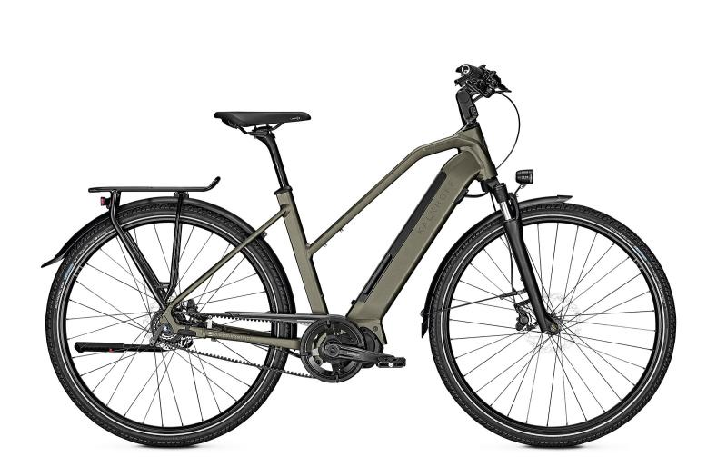Kalkhoff ENDEAVOUR 5.S BELT - 28 Trapez 540 Wh -  darkolivegreen matt 2019