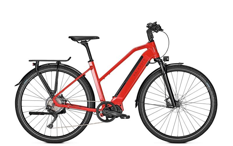 Kalkhoff ENDEAVOUR 5.S EXCITE - 28 Trapez 540 Wh -  firered glossy 2019