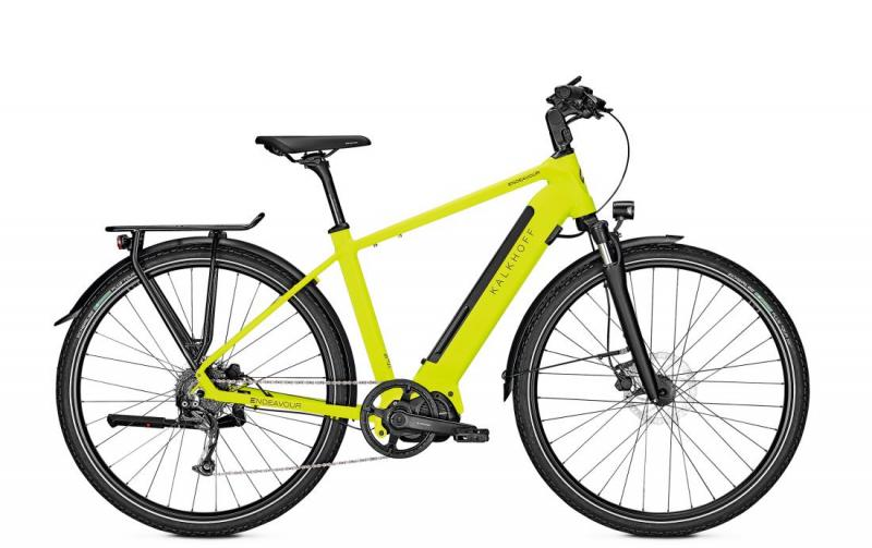 Kalkhoff ENDEAVOUR 5.S MOVE - 28 Diamant 540 Wh -  limegreen matt 2019
