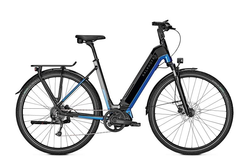 Kalkhoff ENDEAVOUR 5.S MOVE - 28 Wave 540 Wh -  magicblack/pacificblue glossy 2019