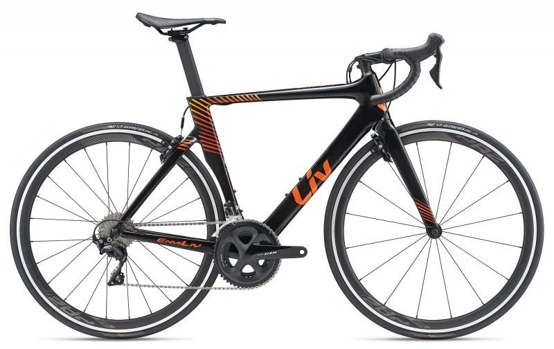 Liv EnviLiv Advanced Carbonblack-Orange-Yellow 2019