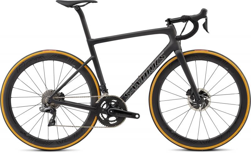 Specialized Men's S-Works Tarmac Disc - 28 -  Satin Black/Silver Holo/Clean 2019