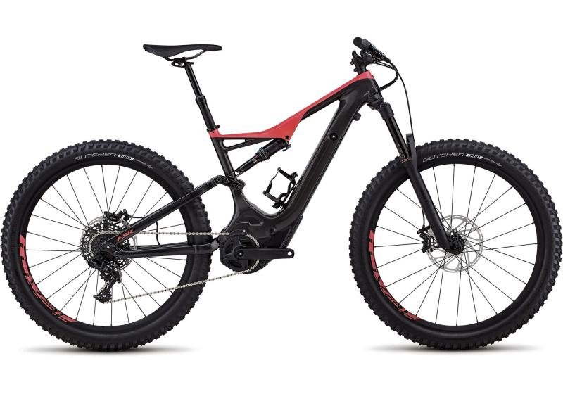 Specialized Men's Turbo Levo FSR Comp Carbon 6Fattie/29 Gloss Carbon/Acid Red 2018