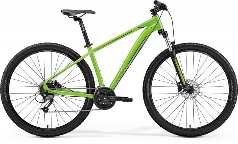 Merida BIG.NINE 40-D - 29 -  LITE GREEN(BLACK) 2019