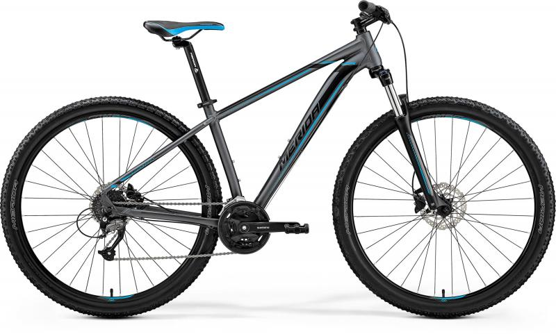 Merida BIG.NINE 40-D - 29 -  MATT DARK SILVER(BLUE/BLK) 2019