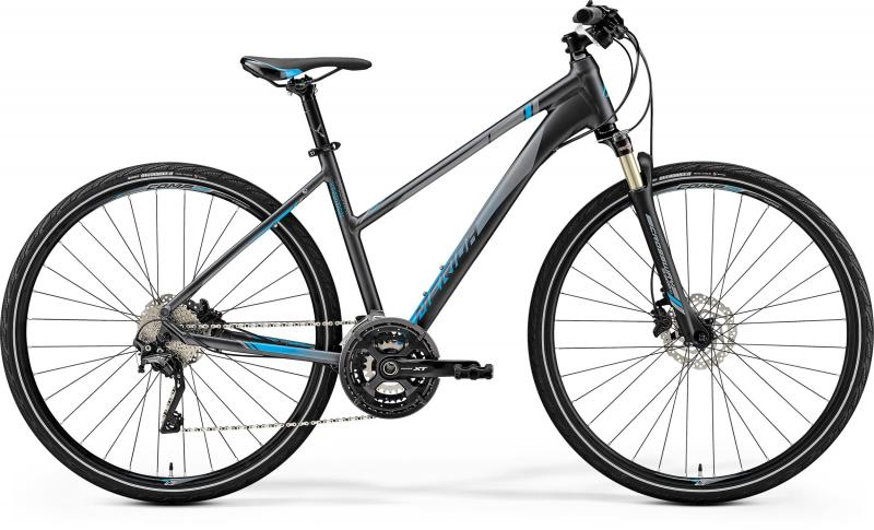 Merida CROSSWAY L XT-EDITION - 28 -  DARK SILVER (BLUE) 2019